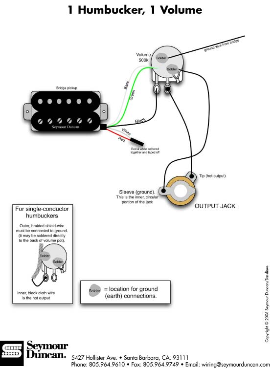 Single Humbucker Wiring Diagrams - Gw.schwabenschamanen.de • on seymour duncan jaguar wiring, seymour duncan srv wiring, seymour duncan bass wiring, seymour duncan pickup wiring coil tap, seymour duncan guitar wiring, seymour duncan les paul wiring, seymour duncan jb humbucker wiring diagrams, seymour duncan p90 wiring, seymour duncan pickup wiring diagram, seymour duncan wiring identification, seymour duncan vintage wiring, seymour duncan single coil wiring, seymour duncan tele wiring, seymour duncan esquire wiring,
