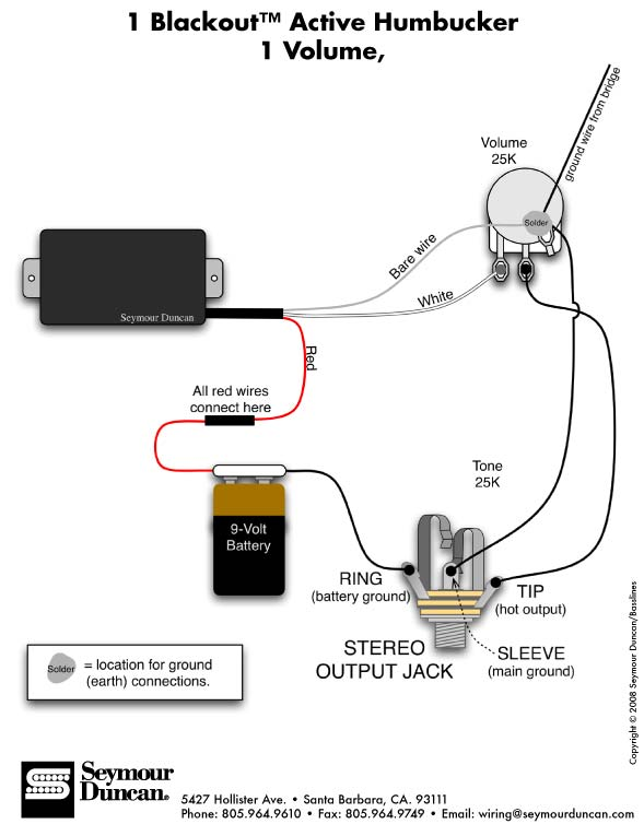 emg wiring diagram 1 volume 3 way switch best wiring diagram image hei distributor wiring diagram emg pickup wiring diagrams guitar easy