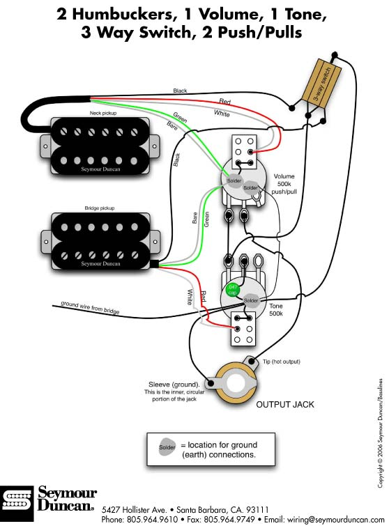 index of   a  pu wiring  humbucker  images
