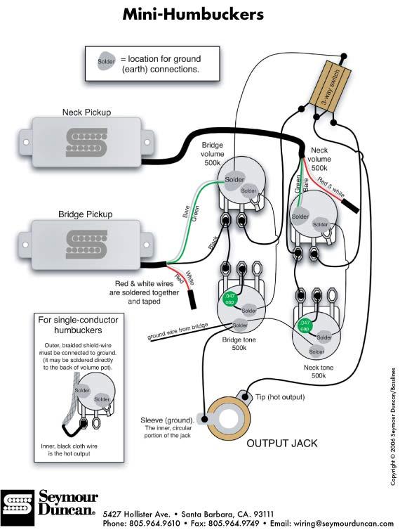 index of a pu wiring humbucker images rh artistrelations com 3 Wire Humbucker Wiring-Diagram Carvin Humbucker Wiring-Diagram